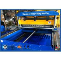 Glazed Molding Roof Roll Forming Machine / Concrete Wall Tile Making Machine With CE ISO Certificate Manufactures