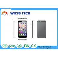Grey W9R 5.5 Inch Android Phone Mt6580 Quad Core 3g Dual Sim 8.3mm Thick Manufactures