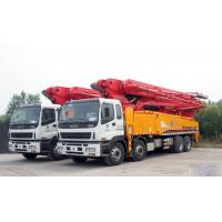 Energy Saving Concrete Pump Truck Automatic Control 48m Boom ISO CCC Manufactures