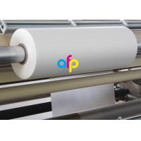 Print Finishing Lamination Bopp Film Roll Glossy / Matt Type EVA Heat Sensitive Layer Manufactures