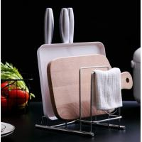 Long Lifespan Pan Organiser Rack , Upright Support Kitchen Knife Organizer Manufactures