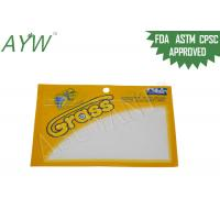 China Yellow Moisture Proof Lure Fishing Bag Plastic Laminated For Hard Baits / Spinners for sale