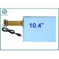 10.4 Inch Capacitive Touch Sensor Bonded On Front Glass For Embedded Industrial Displays Manufactures