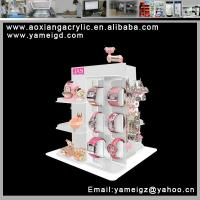 China 12 movable pads bangle watch collection box exhibition on sale