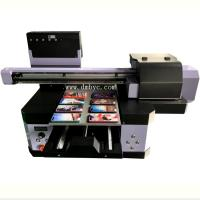 2019 Inkjet Leather Printing Machine Digital Flatbed A3UV Printer For Golf Ball Manufactures