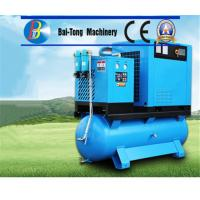 Electric Screw Industrial Air Compressor Air / Water Cooling Method High Durability Manufactures