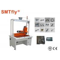 White 2KW Screw Tightener Automatic Nut Tightening Machine With 0.01mm Precision Manufactures