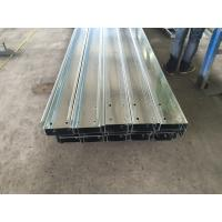 China Z / C Section Purlins Channel Steel Galvanized / Polished For Construction on sale