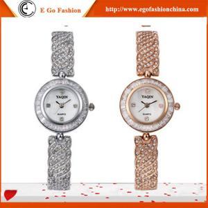 YQ05 Rose Gold Watch Silver Diamond Watch Vintage Watches Woman Luxury Branding Watch Girl