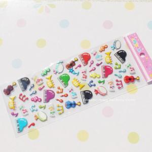 Hot-sale Glitter Plastic Puffy Stickers Non-Toxic PVC Foam Stickers Manufactures