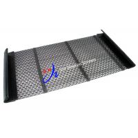 High Carbon Steel W Perforated Mesh Panels Self Cleaning Screen For Aggregate Industry Manufactures