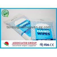 All Natural Antibacterial Wet Wipes Herbal Scent Smell with Essential Oils Manufactures