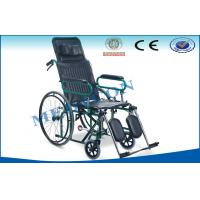 Advanced Quick Release Reclining Wheelchair For Hospital / Home Emergency Manufactures