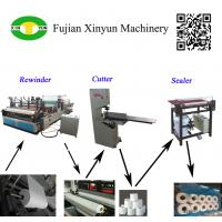 Semi automatic small toilet paper making machine production line Manufactures
