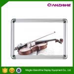 25mm, 32mm profile Aluminium Round Corner Silver Click Frames, Photo Frame, Sign Frame Manufactures