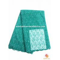African Net Embroidery Lace Fabrics for Party Dress , Tulle Net Manufactures