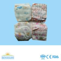 China Wholesale disposable non woven fabric baby diapers custom printed cheap B grade baby diaper on sale