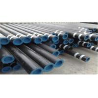 "Hot Rolled Carbon 4"" Diameter Steel Pipe ASTM Standard For Petroleum Manufactures"