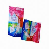 Sanitary Napkin Bag with Bright-colored and Artistic Printing Appearance, Good Barrier Property  Manufactures