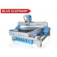 Simple Operation Smart 4 Axis MDF Cutting Cnc Router Machine 3 Axis 1325 for Aluminum Windows Manufactures