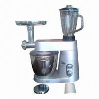 China Stand Mixer with Metal Housing/1200W Powerful Motor, Meat Grinder, Beater, Blender, Mixer Function on sale