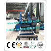 Light Type H Beam Welding Line , Automatic H beam Production Line In China Manufactures