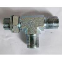 BSP Male 60° SEAT/O ring adustable stud end run tee Manufactures
