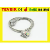 China 5 Leads HP M1635A IEC ECG Leadwire Cable For Patient Monitor on sale