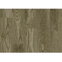 Fashionable Smooth Pvc Flooring Materials Wood Effect Conform To Production Process SGS Manufactures