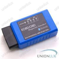 Quality OBD Interface VAG Diagnostic Tool, Elm327 Bluetooth EOBD OBD2 Scan Tool for sale