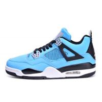 Hot Super perfect quality Mens air jordan 4 Joy Blue popular jordan 4 Basketball Shoes with free shipping and shoes box Manufactures