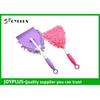 Personalized Car Cleaning Duster Car Wash Mitt With Handle Microfiber / PP Material Manufactures