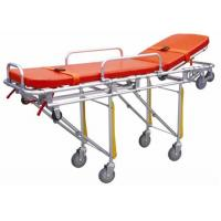 Hospital Emergency Ambulance Stretcher Trolley Aluminum Alloy Automatic Loading Stretcher ALS-S004 Manufactures