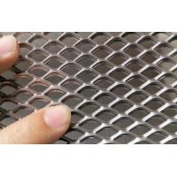 China Stainless Steel Expanded Metal Diamond Wire Mesh 0.5mm-15mm Thickness For Filter on sale