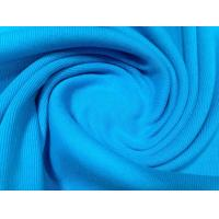 Quick Dry Polyester Spandex Blend Fabric Moisture Wick Single Jersey For T - Shirt Manufactures