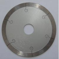 9 Inch Continuous Rim Saw Blade For Porcelain Tile , 350mm Diamond Cutting Blades Manufactures