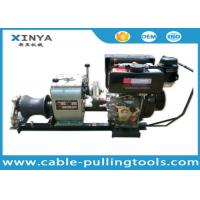 3 Ton Hand Operated Diesel Towing Winch Machine Manufactures