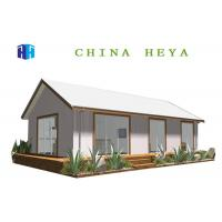 Earthquake Proof Prefab Contemporary Homes Kits , Prefabricated Eco Houses Reusable Manufactures