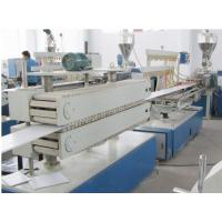 Quality Wooden Plastic Product Pvc Sheet Extrusion Line / Machine Fully Automatic for sale