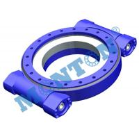 High Precision Worm Drive Slew Ring Four Point Contact 9 Inch Outside Dia Manufactures