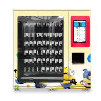 China toys vending machine with x-y axis elevator and adjustable channel width function on sale
