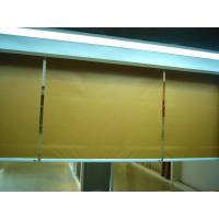 China Fire Resistant Fabric Roller Blind Beige For Windows Outside on sale