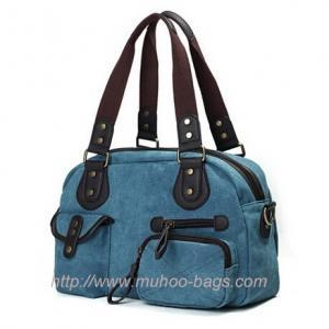 China Fashion Canvas Diaper handbag for lady (MH-6003) on sale
