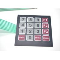 Quake Proof Custom Membrane Switches , Electrical Membrane Switch Keypad Manufactures