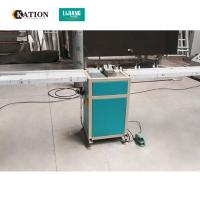 China Movable Aluminum Cutting Machine For Cutting Aluminum Spacer Of Insulating Glass Process on sale