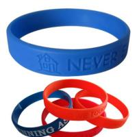 Trendy bracelet 2015 / cheap rubber bracelet / silicone bracelet with factory direct price Manufactures