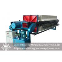 Iron Ore Dewatering Filter Press Program Controlled Automatic Shifting Manufactures