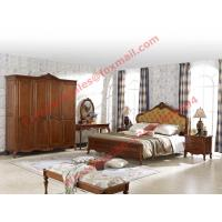 Luxury Design in England Country Style Wooden Bedroom Furniture sets Manufactures