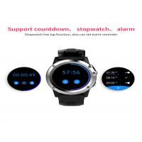 3G Network LED Smart Watch Capactitive Touch Screen Stainless Steel Watch Case Manufactures