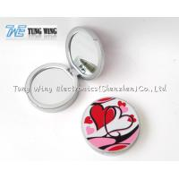 Personalised Travel Makeup Mirror Grils Small Makeup Mirror Gift for sale
